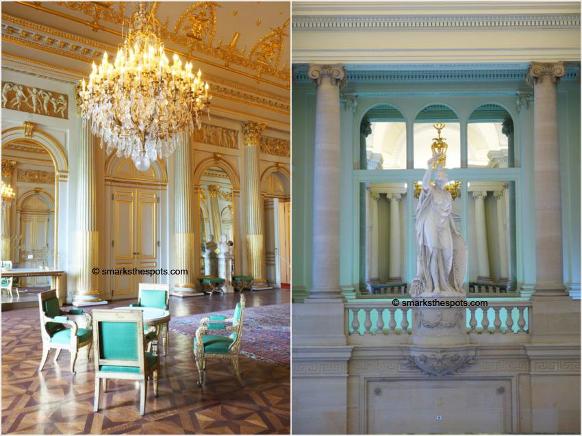 Royal palace of brussels s marks the spots - Salon de the palais royal ...