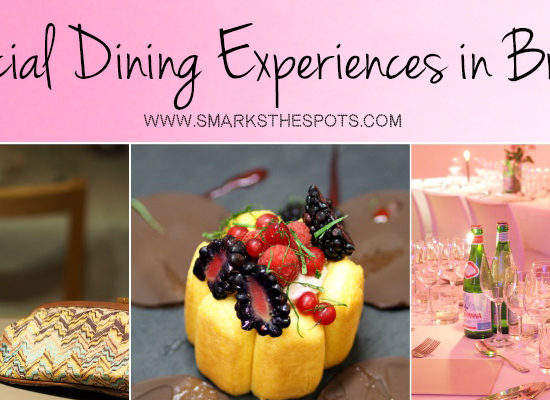 5 Special Dining Experiences in Brussels - S Marks The Spots Blog