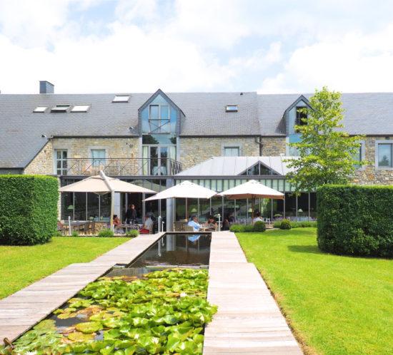 Lemonnier restaurant, Lavaux Sainte-Anne, Belgium - S Marks The Spots