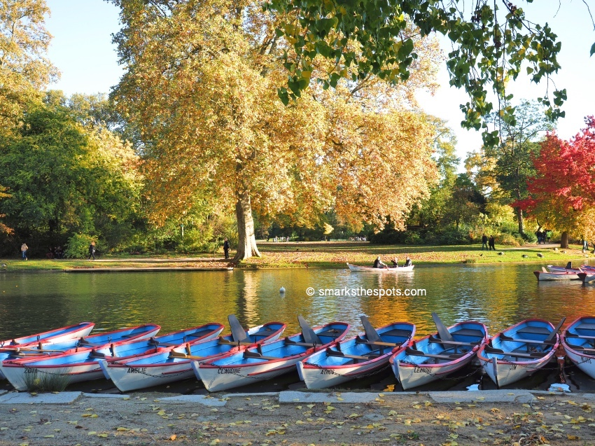 Autumn at the Bois de Vincennes, Paris - S Marks The Spots Blog