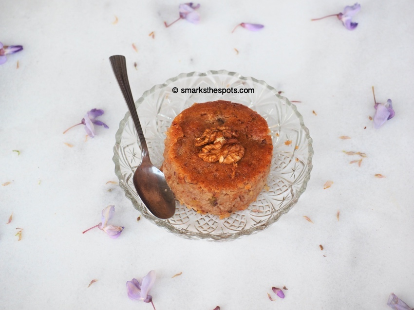 Coconut & Walnut Syrup Cake - S Marks The Spots Blog