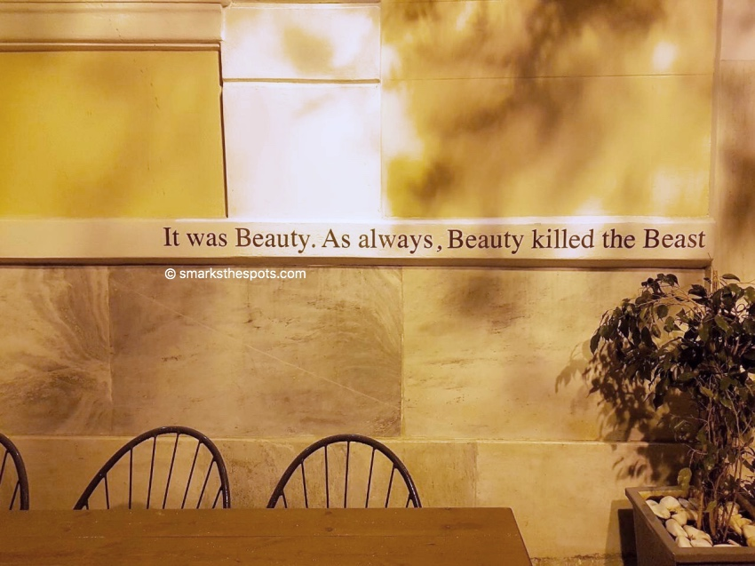 Beauty Killed The Beast, Athens - S Marks The Spots Blog