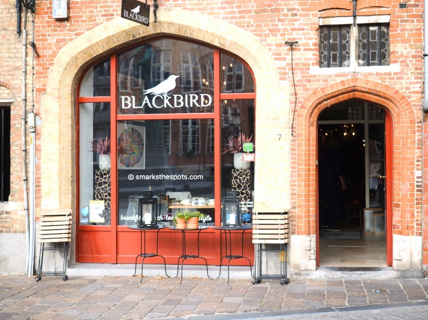 Blackbird, Bruges - S Marks The Spots Blog