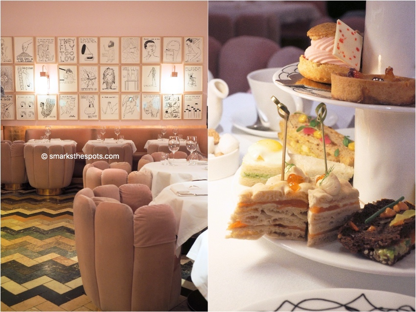Afternoon tea at Sketch, London - S Marks The Spots Blog